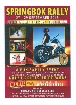 Springbok 2013 Poster